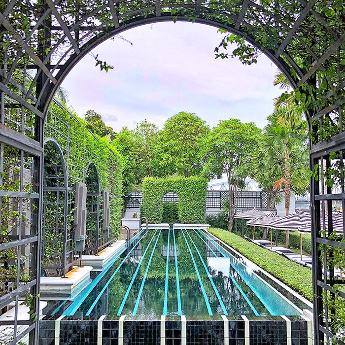The pool at The Siam Hotel Bangkok _ Photo boyeatsworld.com.au