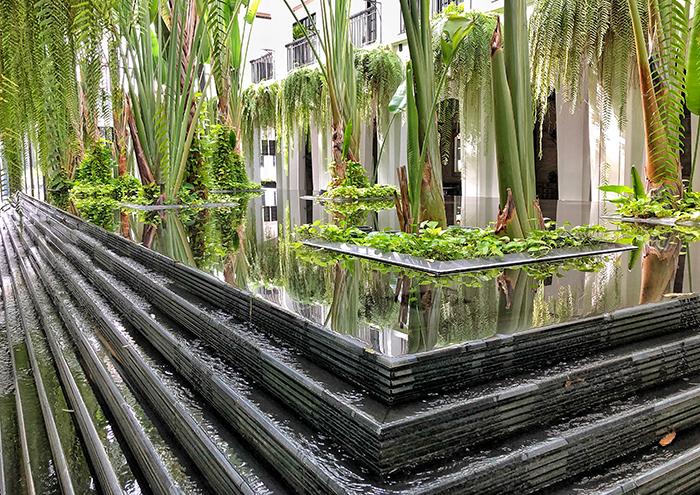 The Atrium at The Siam Hotel Bangkok | boyeatsworld.com.au