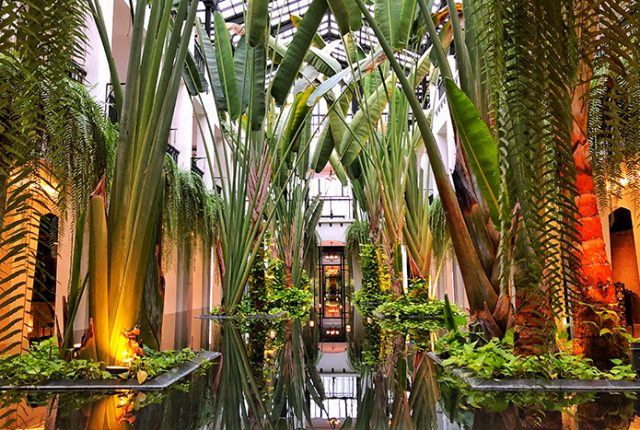 The atrium at the Siam Bangkok | boyeatsworld.com.au