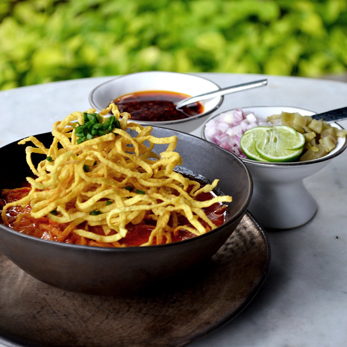 Khao Soi - Photo courtesy The Siam Bangkok