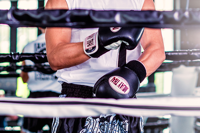The Siam. Muay Thai Training. Image courtesy The Siam