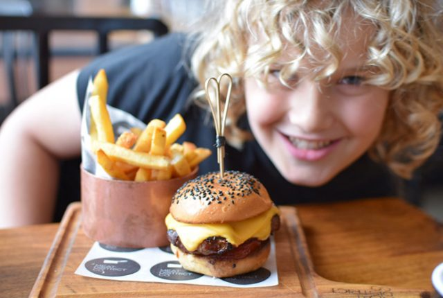 Meat District Co. kids' menu