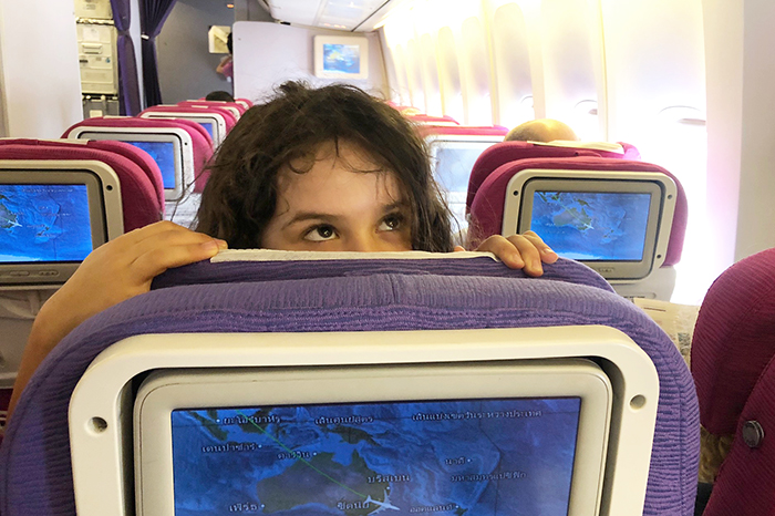 Thai Airways Economy Sydney To Bangkok with kids