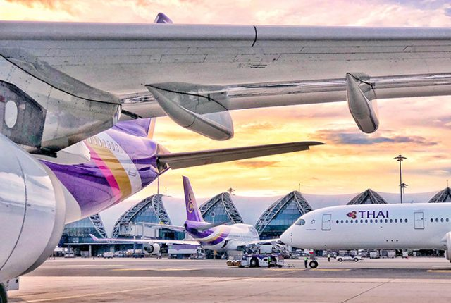 Thai Airways Bangkok Suvarnabhumi Airport