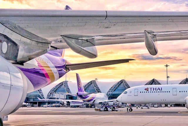 Thai Airways Bangkok Suvarnabhumi Airport