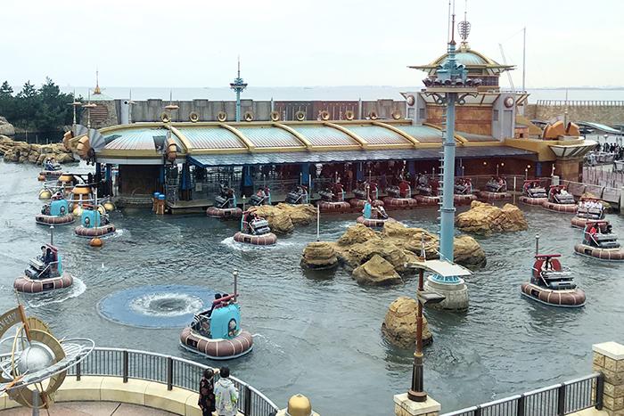 Aqautopia at Port Discovery at Tokyo Disney ©Disney