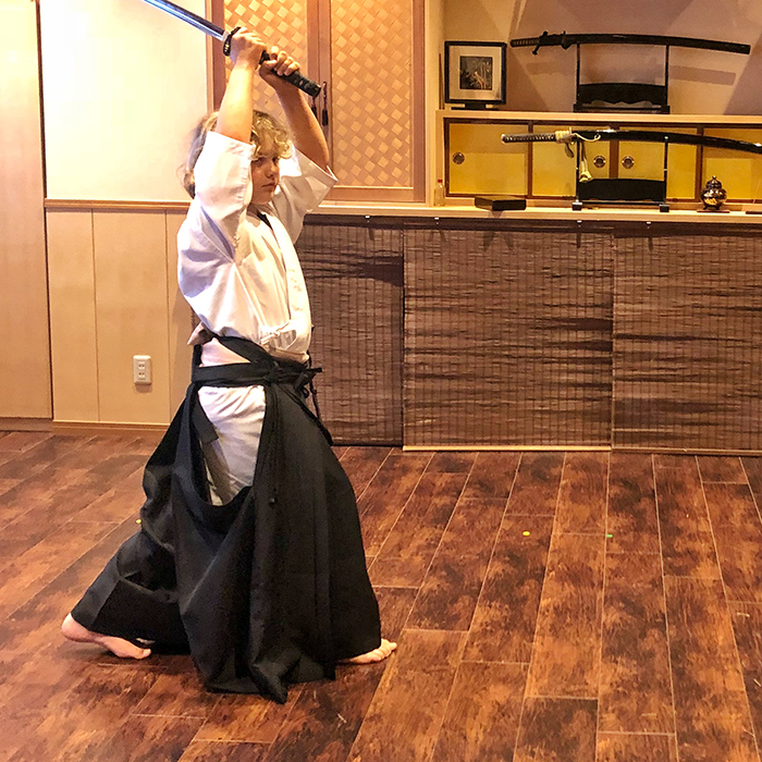 Things to do in Tokyo with Kids: Hisui Tokyo Swordsmanship with Inside Japan Tours