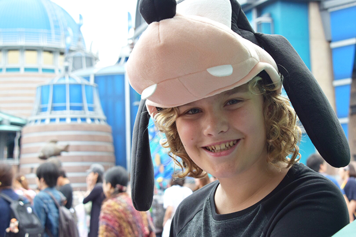 Big smiles at Port Discovery at Tokyo Disney Sea ©Disney Photo by Aleney de Winter