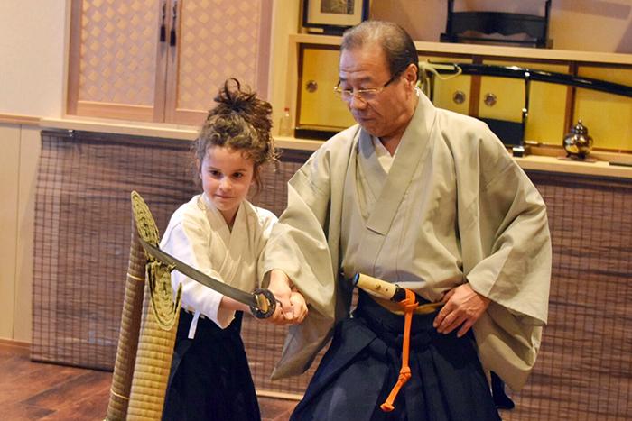 Hisui Tokyo Battō with Inside Japan Tours