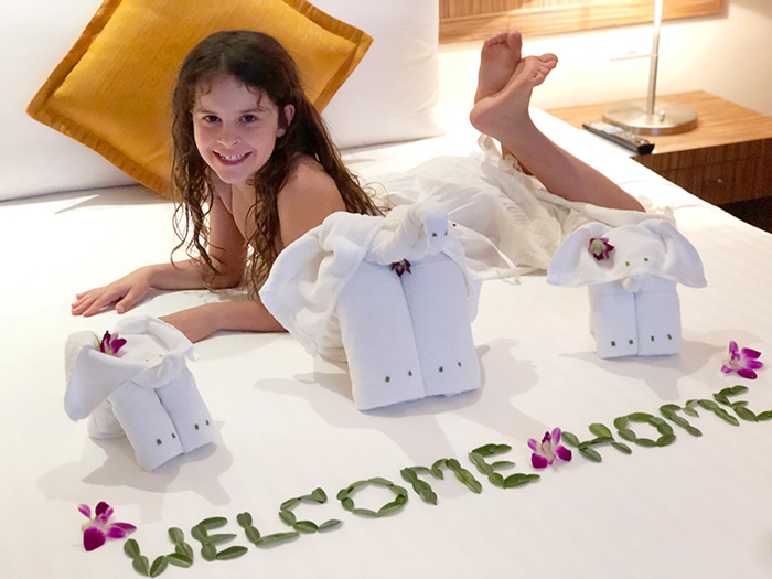 A warm welcome at at Novotel Surin Beach Resort Phuket
