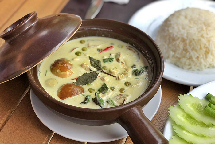 Thai Green Curry at Novotel Phuket Surin Beach Resort