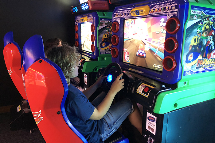 Arcade Games Room at Novotel Surin