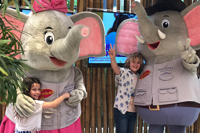 Elfie the Elephant at Novotel Surin Beach Resort Phuket