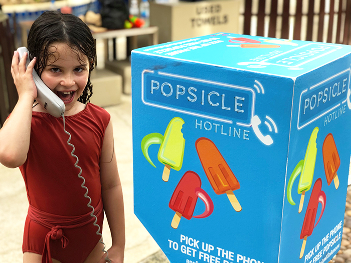 Genius popsicle hotline at Novotel Surin Phuket