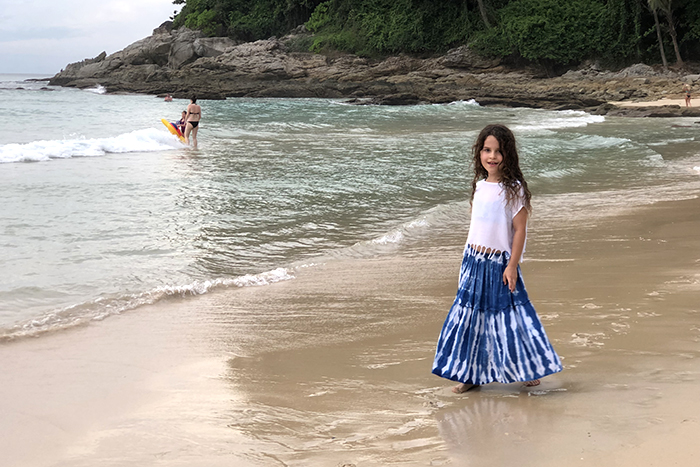 Surin Beach is opposite Novotel Surin Phuket Resort