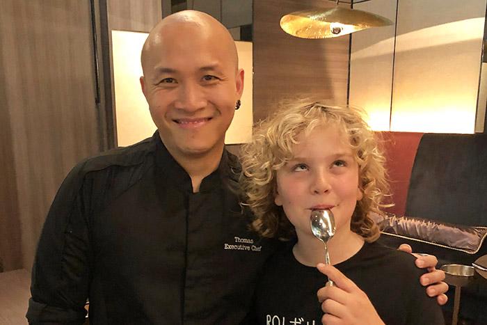 Raff and Excutive Chef Thomas at KASA Pullman Tokyo Tamachi