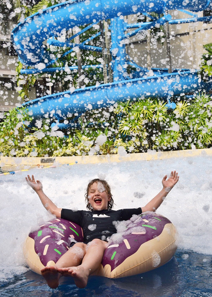 Foam party at Novotel Surin Phuket Resort