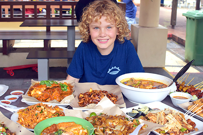 Raffles at East Coast Lagoon Food Village -A glutton's ultimate guide to Singapore dining