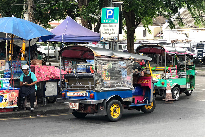 Take a tuk tuk - 39 things to do in Bangkok with kids