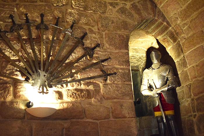 The Dungeon at Dalhousie Castle Hotel Edinburgh