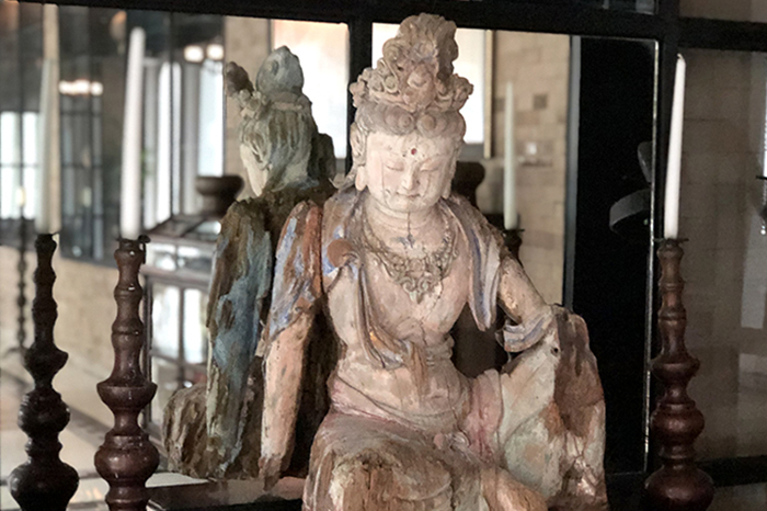 The collection of artefacts and curios at The Siam Hotel in Bangkok are as good as any musuem