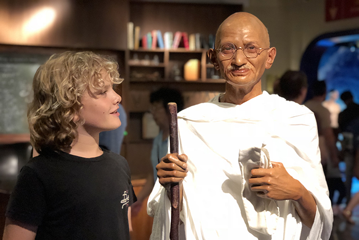 History lessons at Madame Tussauds Sydney with kids