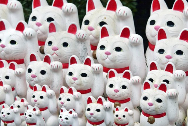 Gotokuji, The Waving Cat Temple in Tokyo