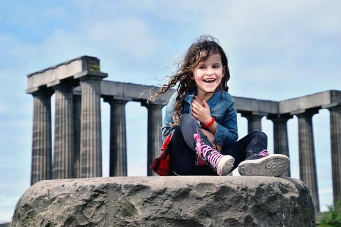 Calton Hill. Edinburgh by kids