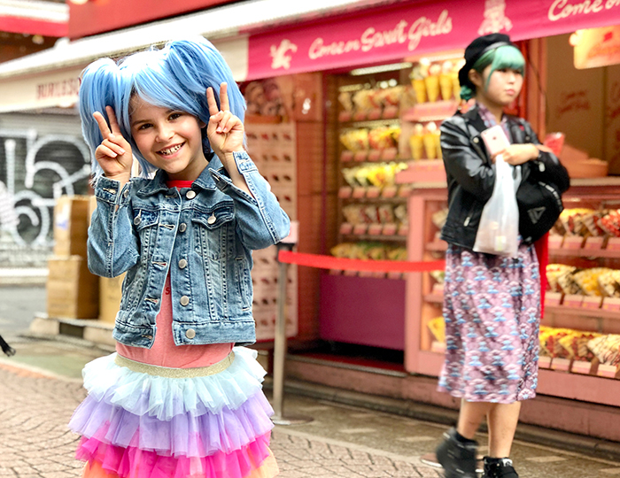 Harajuku streets: Things to do in Tokyo with Kids