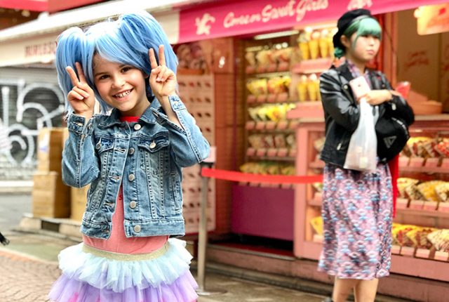 Things to do in Tokyo with Kids: Harajuku's Takeshita Dori