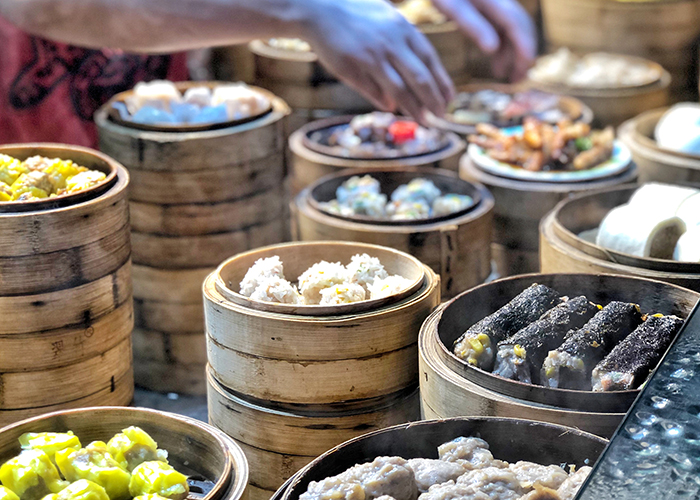 Guangzhou's famous dim sum