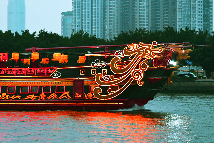 Cruise the Pearl River at Night