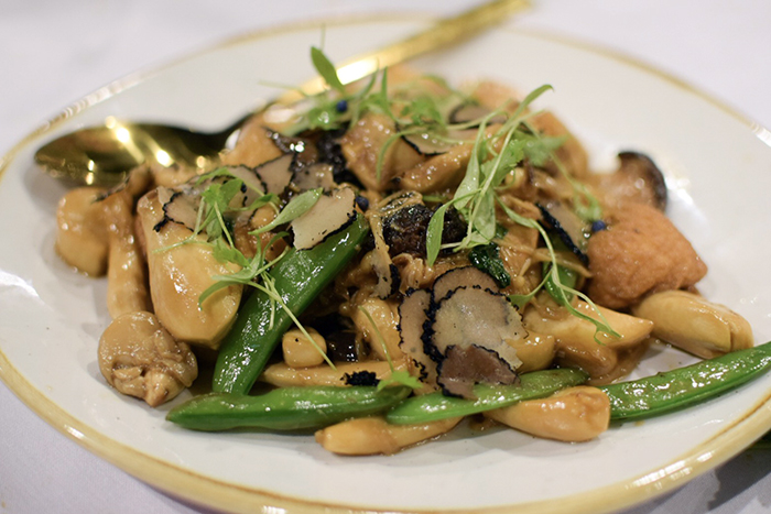 Mushrooms and truffles at Canton Kitchen
