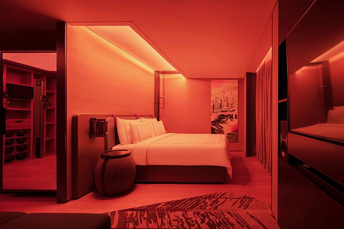 Swissotel Vitality Rooms offer bio-adaptive wake-up light that simulates sunrise ©AccorHotels