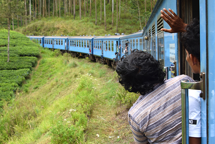 The Blue Train Sri Lanka