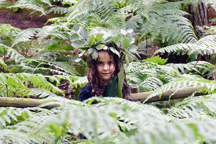 Little girl at BeWILDerwood