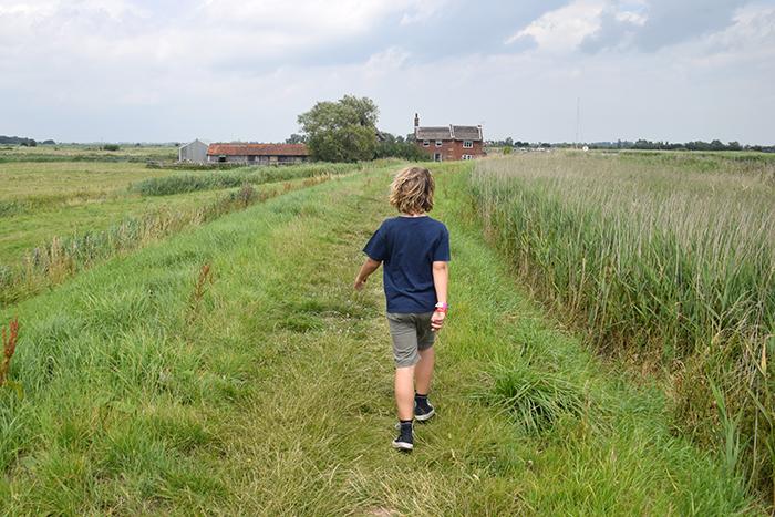 Boy on the Norfolk Broads