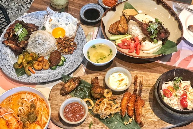 There's a great choice of Southeast Asia as well as Polynesian inspired delights at Native Kitchen at Sentosa