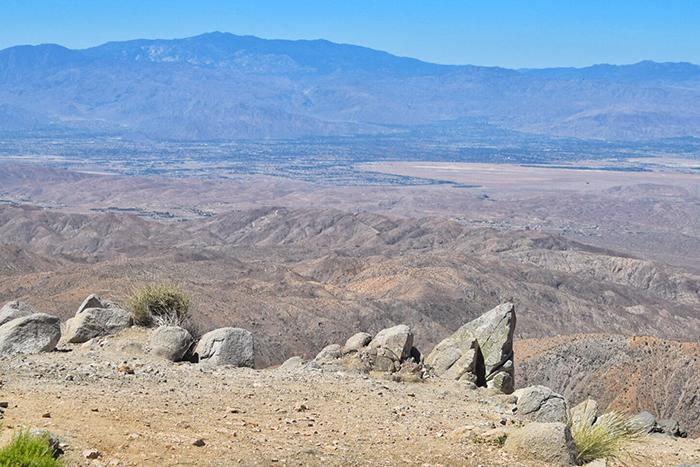 Views over the Coachella Valley