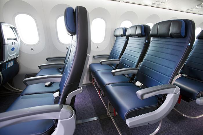 United Economy Plus seating