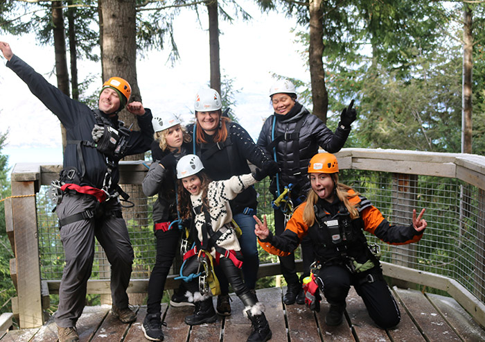 ZIpTrek Eco Tour with kids