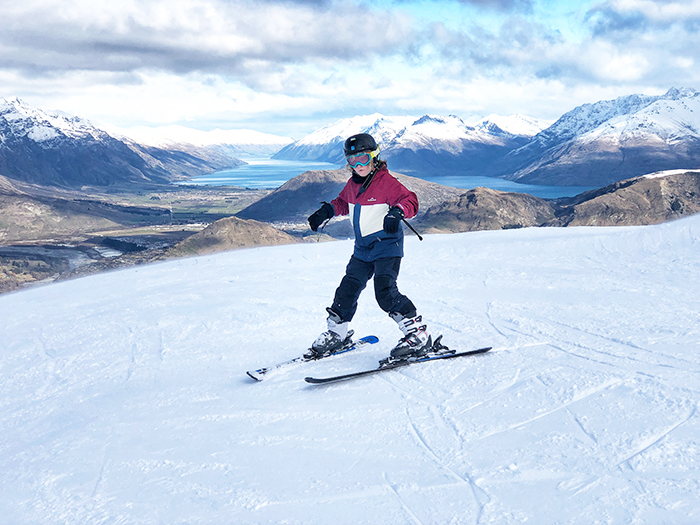 Things to do in Queenstown with kids: Skiing