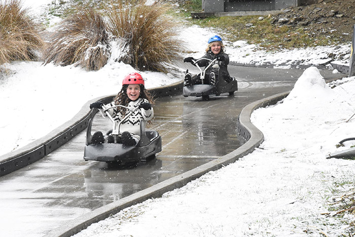 Queenstown's Skyline Luge is great for families