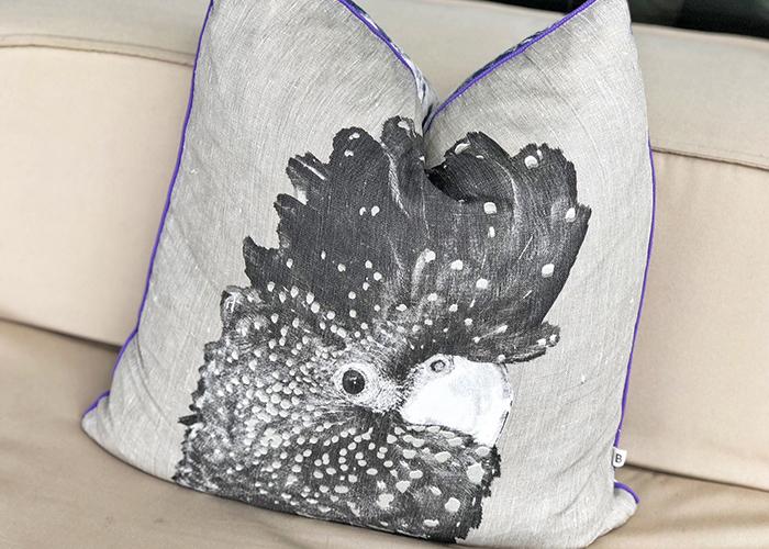 cushion at The Riley