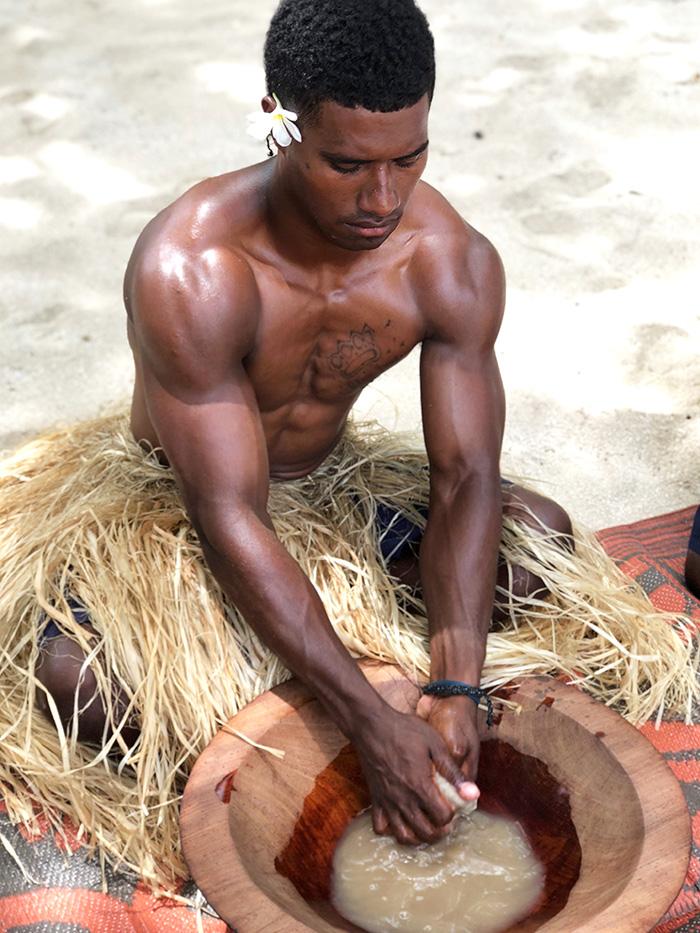 Kava Ceremony Tivua Island