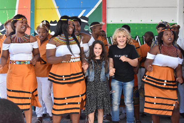 The incredible IsibaneSe Afrika Choir at Khayelitsha Cape Town
