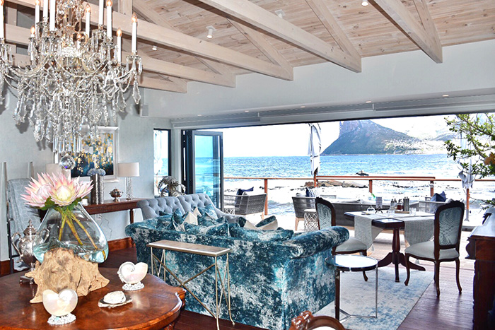 Lounge at Tintswalo Atlantic