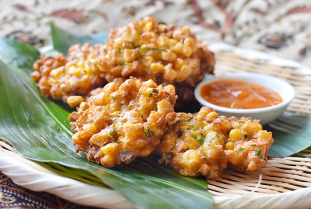 Perkedel Jagung – Easy Indonesian Corn Fritters