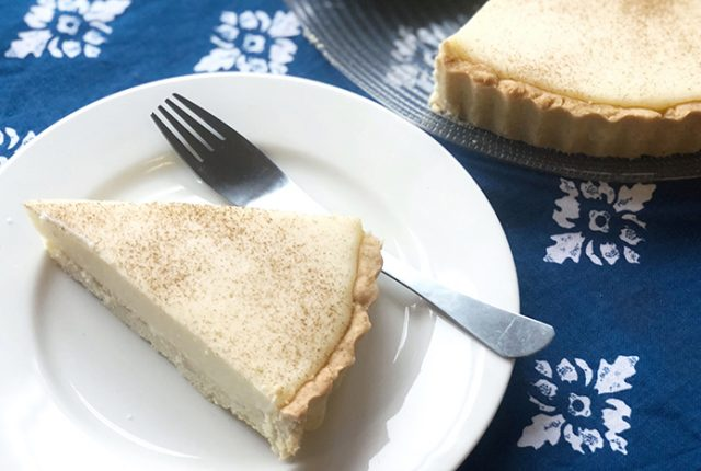 South African Melktert (milk tart)