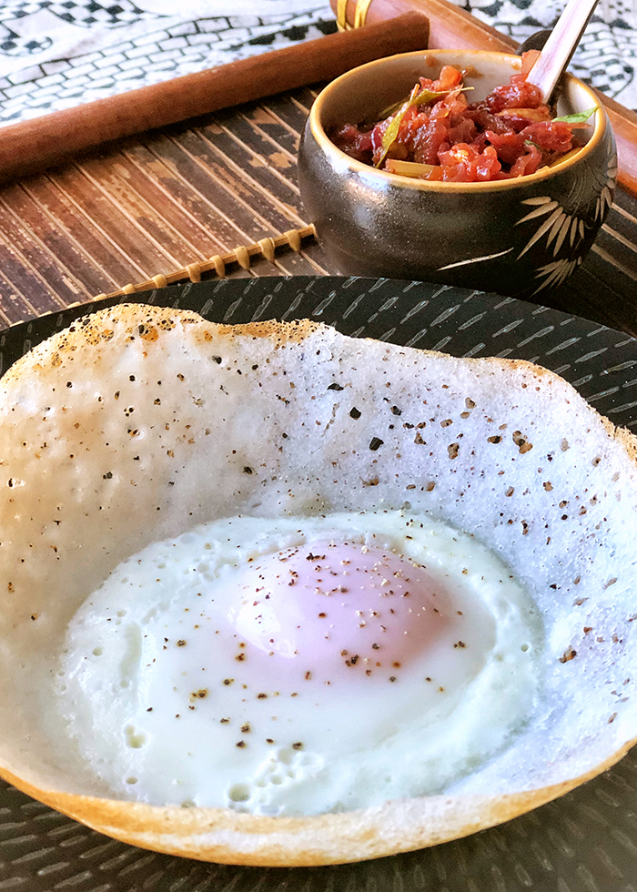 Sri Lankan Egg Hopper Recipe